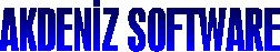 AKDENİZSOFTWARE Web Sitesi Kurulum & Fotoğrafçılık Hizmetleri